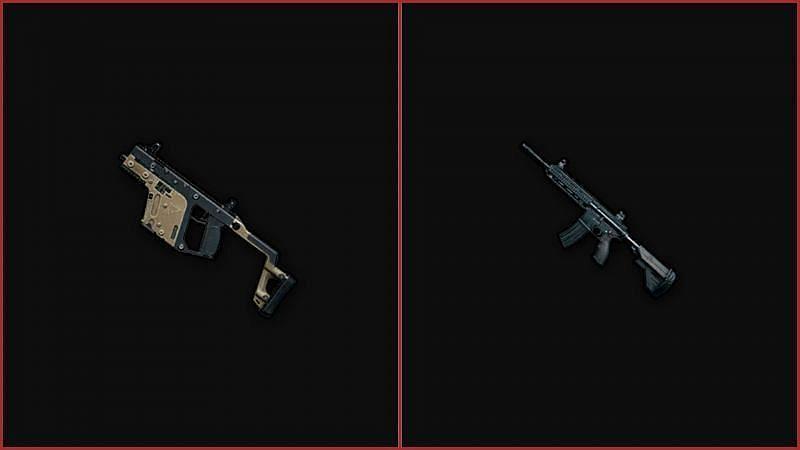 Vector vs M416 in PUBG Mobile