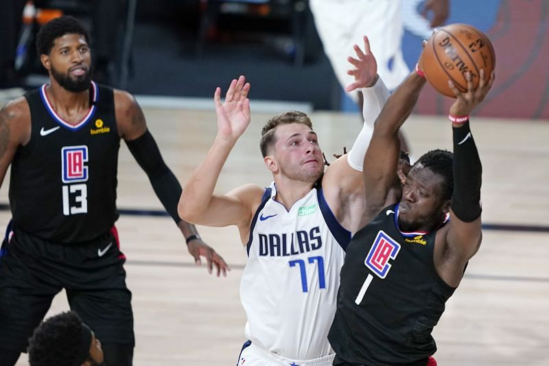 Luka Doncic will be hoping to lead the Dallas Mavericks to a series lead against the LA Clippers