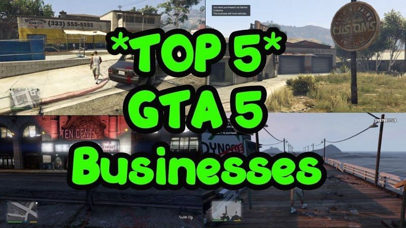 Best businesses to buy in GTA 5 (Image: LKG | YouTube)