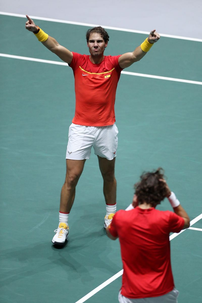 Rafael Nadal is a formidable doubles player in his own right