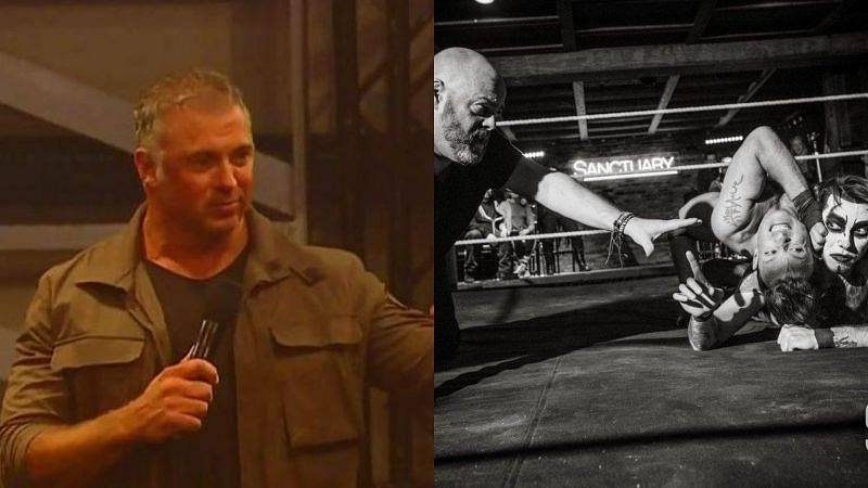 Shane McMahon, a photo from a Sanctuary Fight Club show.