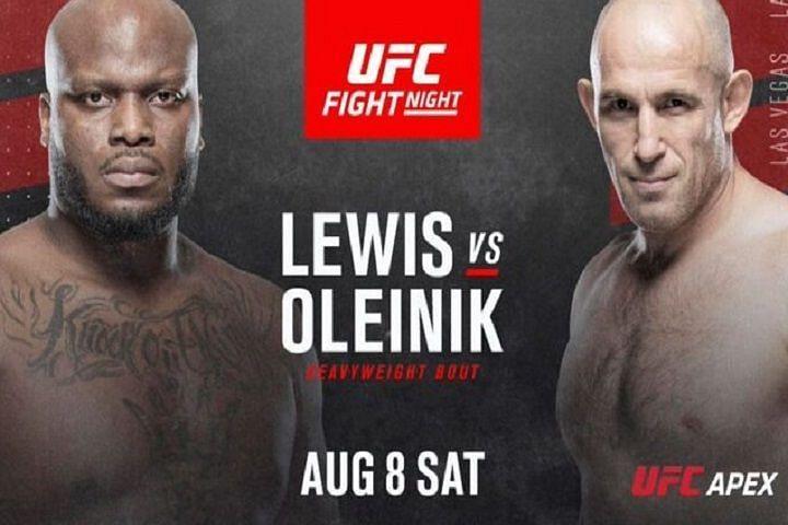 UFC Vegas 6 Results: Lewis vs. Oleinik