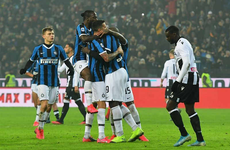 Inter Milan enjoyed a decent Serie A campaign under Antonio Conte.