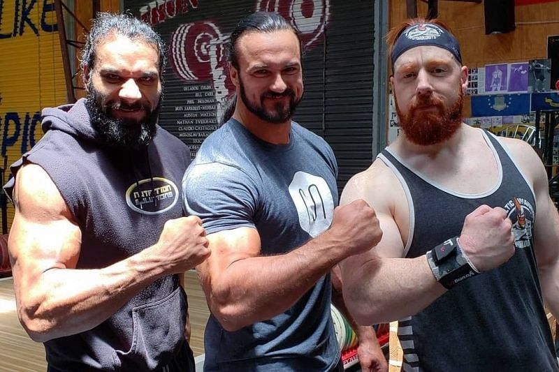 Drew McIntyre has made life-long friends from all over the world