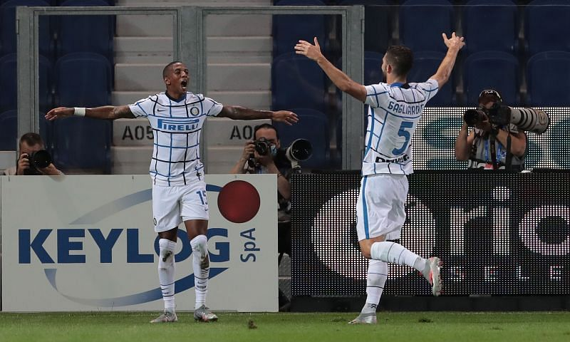 Ashley Young had an assist and a goal in for Inter Milan against Atalanta.