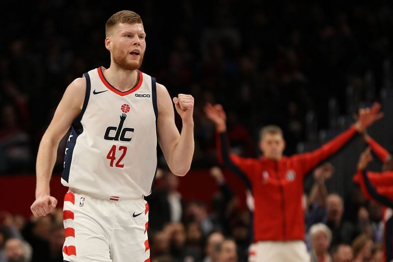 Davis Bertans has had a great season with the Washington Wizards this year