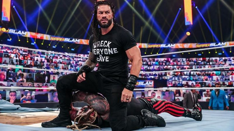 Roman Reigns laid out Bray Wyatt to close SummerSlam 2020