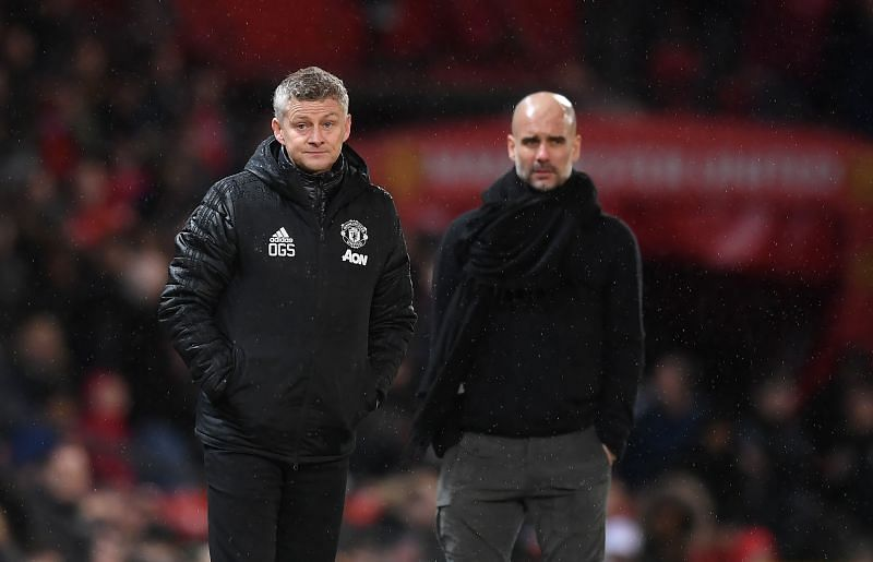 Guardiola and Solskjaer are looking to reinforce their squads