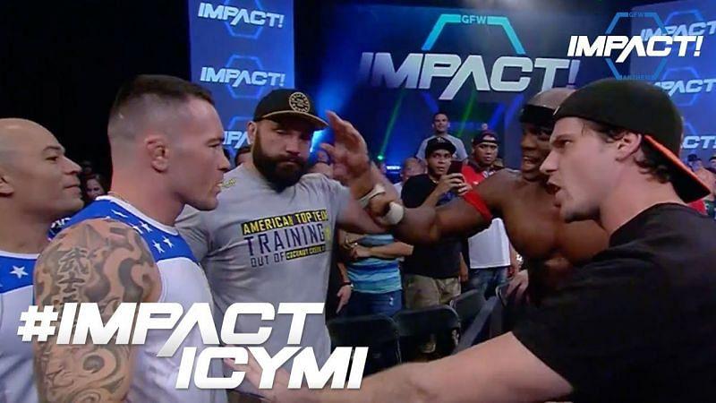 Colby Covington Impact Wrestling Career