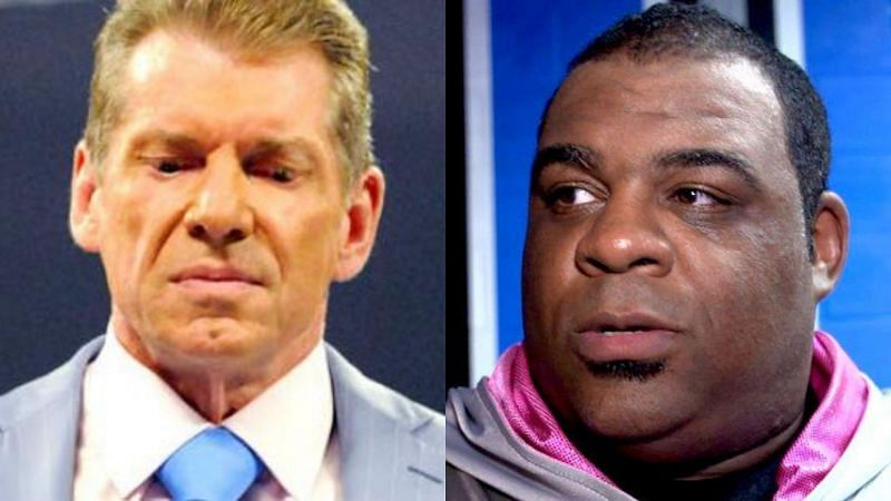 Vince McMahon and Keith Lee.