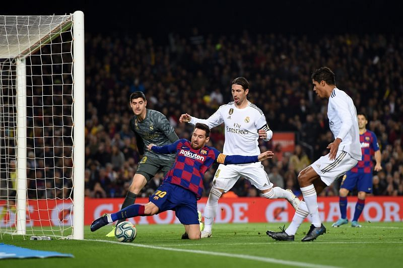 Lionel Messi holds several El Clasico records