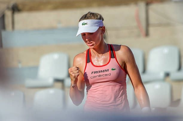 Jil Teichmann will be vying for a third WTA final.