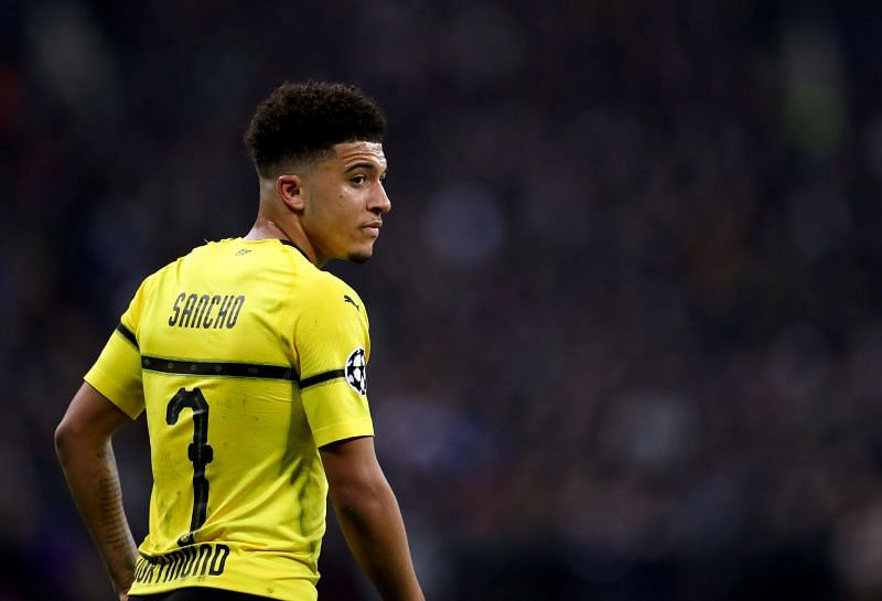 Jadon Sancho is a top target for Manchester United this summer