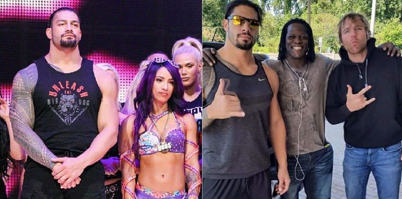 Roman Reigns has a number of close friends on WWE