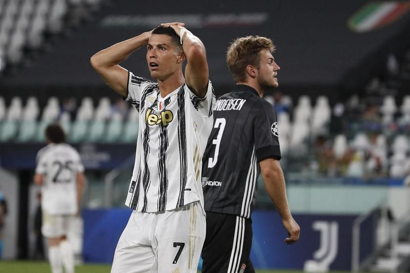 Juventus were knocked out of the Champions League despite a 2-1 victory