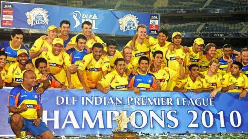 Chennai Super Kings won their first IPL title in 2010.
