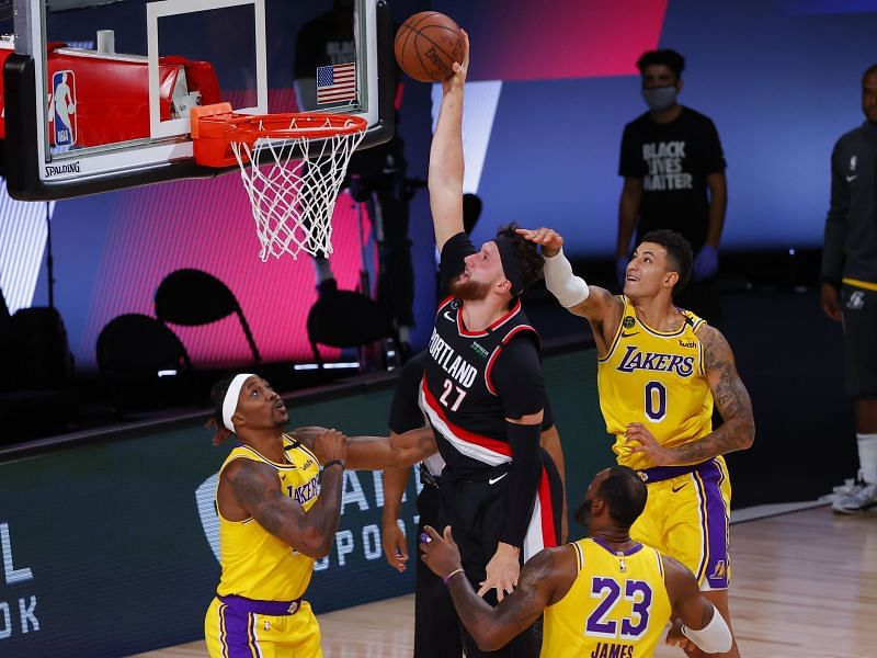 The Portland Trail Blazers would have had a higher seed if not for the absence of Jusuf Nurkic