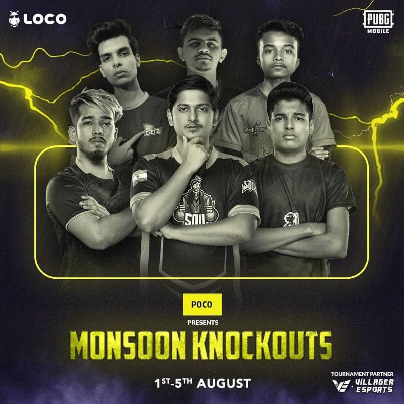 PUBG Mobile Original Monsoon Knockouts Day 2 is over