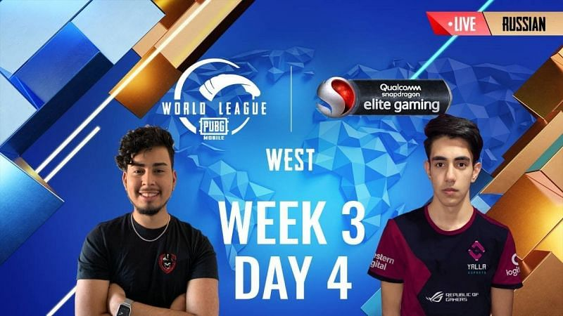 PMWL 2020 West Week 3 Day 4 schedule announced (Image Credits: PUBG Mobile)