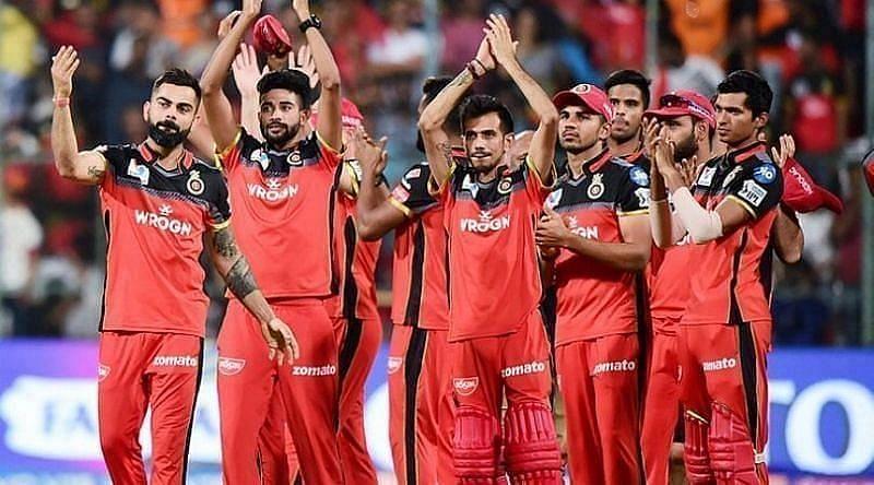 आरसीबी की टीम