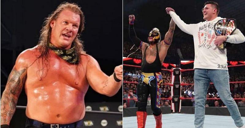 Chris Jericho; Rey and Dominik Mysterio
