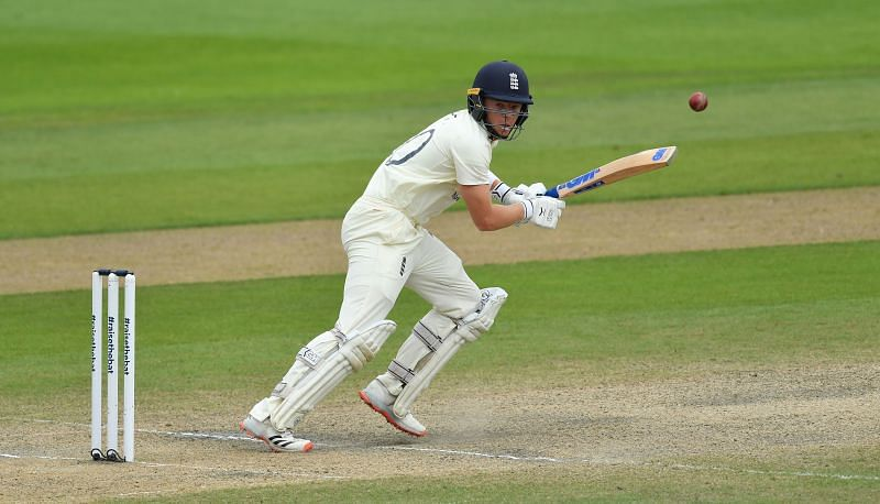 Ollie Pope took the pressure off Root in the first innings against Pakistan at Manchester