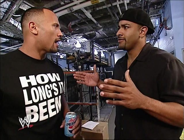 The Rock and Coach in WWE