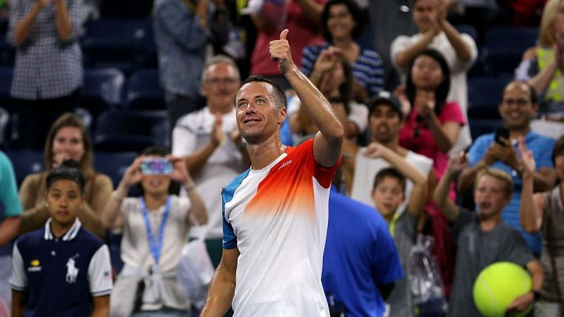 Philipp Kohlschreiber looks to open his 2020 US Open campaign with a win.