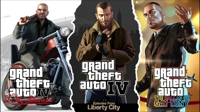 GTA IV: The Complete Edition (Image Credits: Wallpaperabyss)