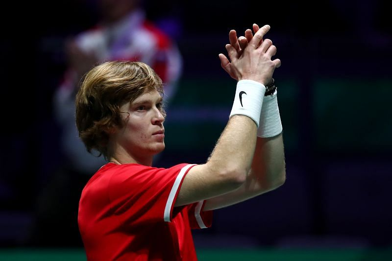 Andrey Rublev will face Jeremy Chardy in the First Round of the US Open