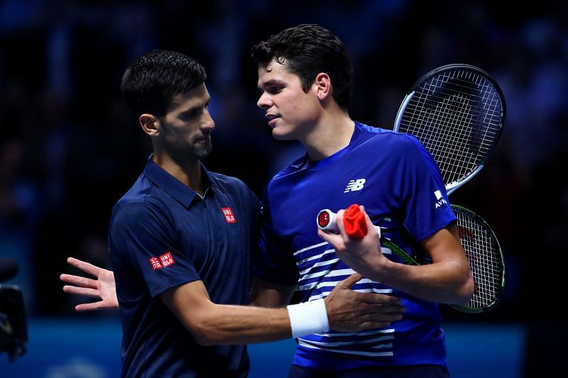 Djokovic faces Milos Raonic tomorrow