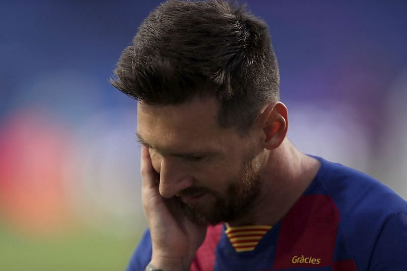 Lionel Messi has edged closer to leaving Barcelona