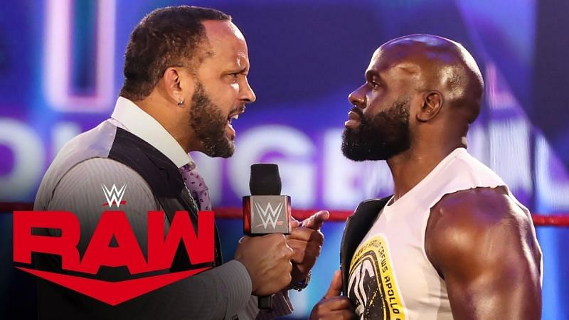 MVP and Apollo Crews on WWE RAW