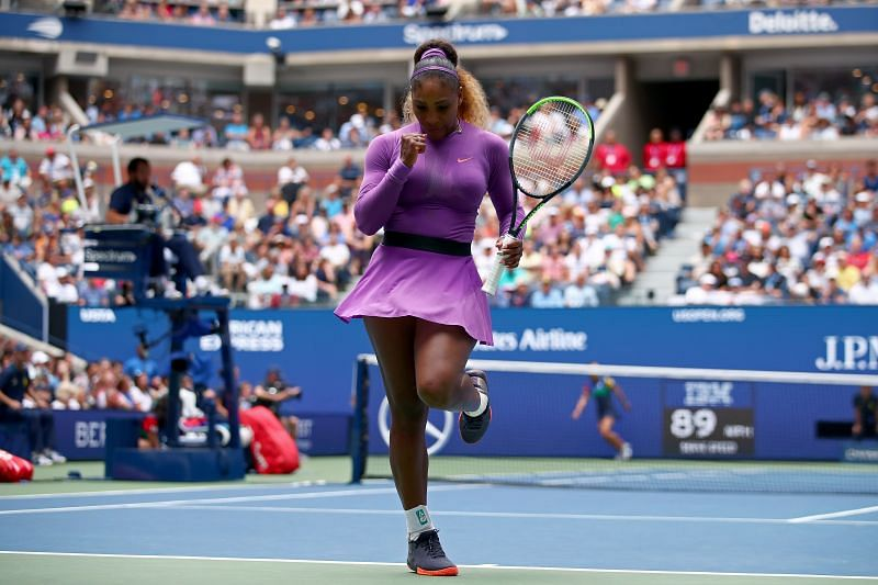 Serena Williams has faced Maria Sakkari only once before