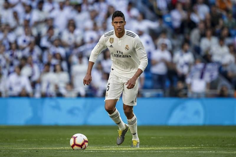 Raphael Varane has explained how Real Madrid still hold the advantage over Manchester City