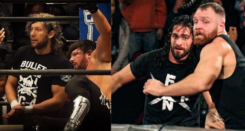There is quite the history between current WWE and AEW Superstars, especially between Styles-Omega and Rollins-Moxley