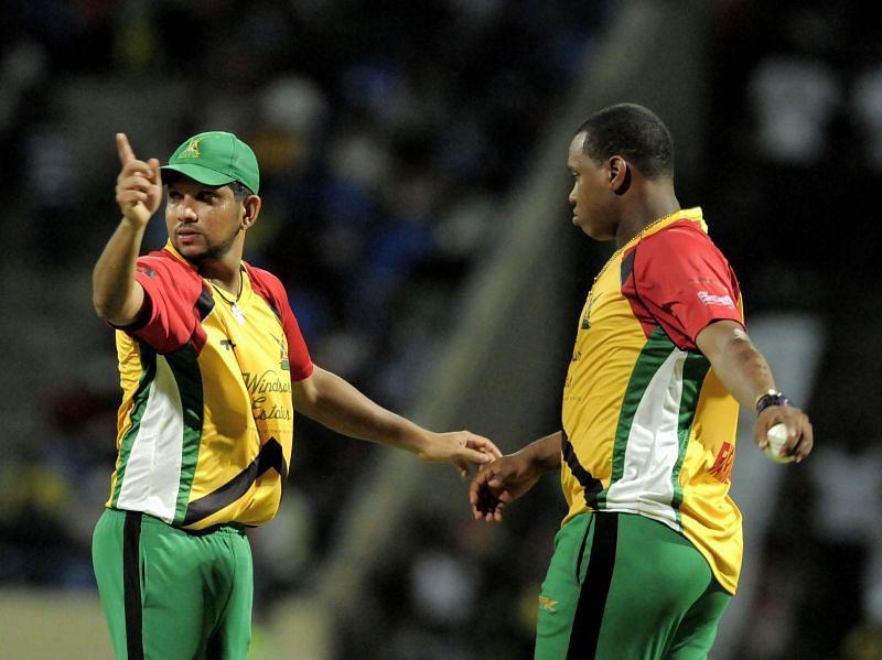 Antigua Hawksbills v Guyana Amazon Warriors - CPL 2013