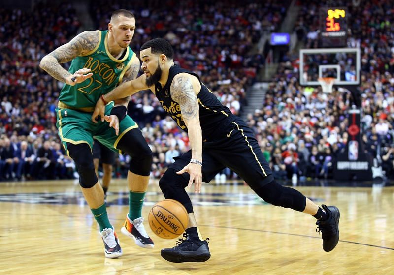 The Boston Celtics and Toronto Raptors are no strangers to each other