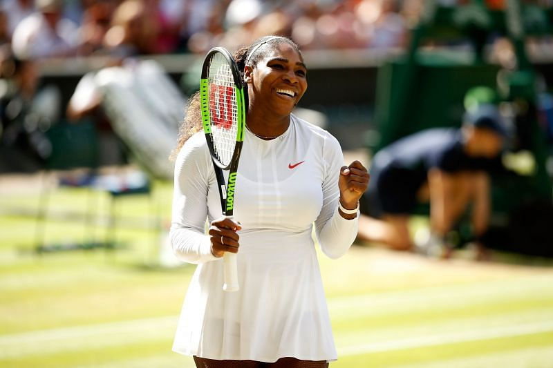 Serena Williams will have to work hard to get past Bernarda Pera