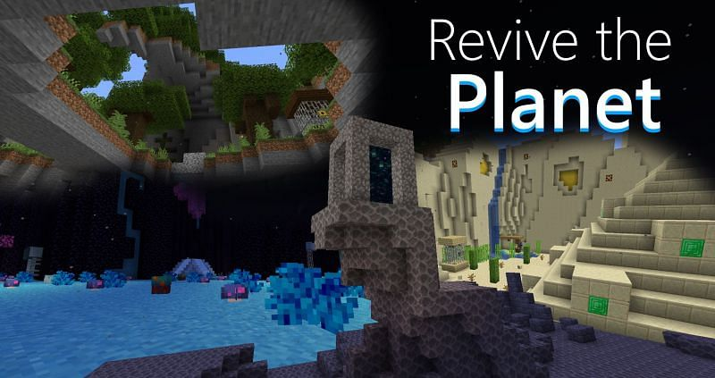Revive the Planet (Image credits: Minecraft Maps)
