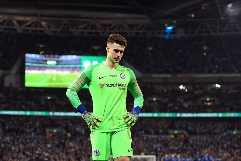 Kepa endured a difficult time at Chelsea in the recently concluded Premier League season