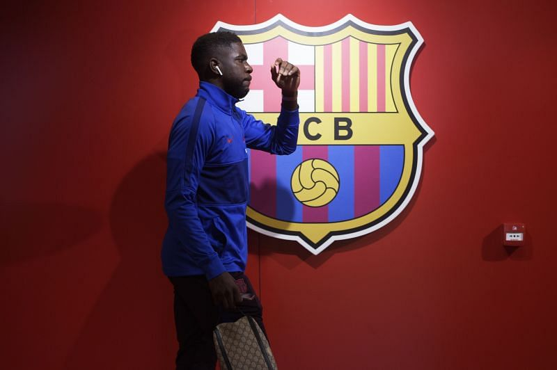 Samuel Umtiti has been linked with a move away from Barcelona this summer