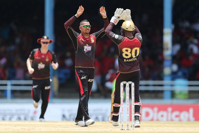 Trinbago Knights Riders have won four out of six CPL games at this venue