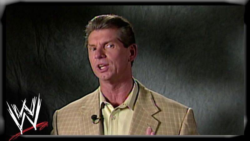 Vince McMahon welcomes the Attitude Era