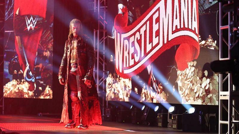 Edge at WrestleMania 36
