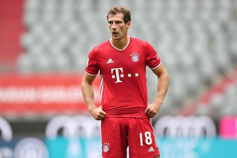 Leon Goretzka in Bayern Munich colours
