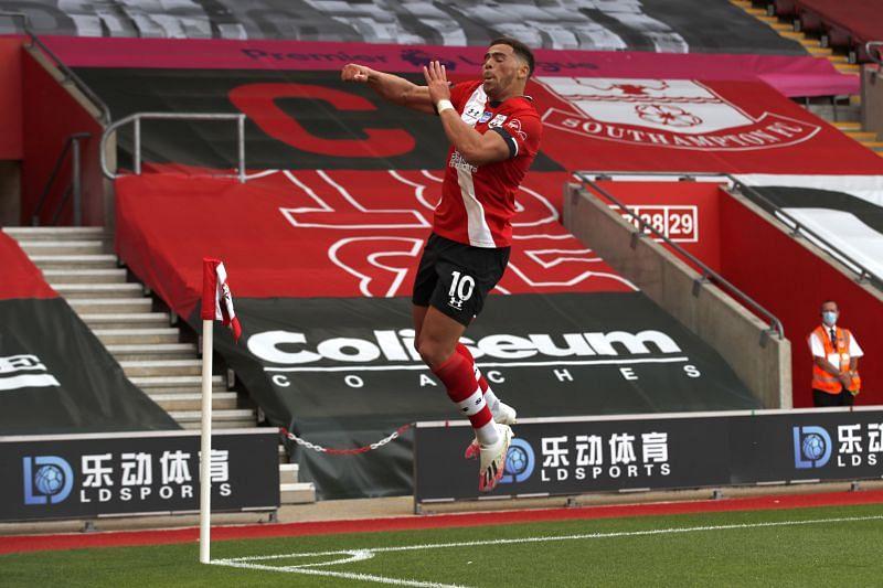 Southampton FC v Sheffield United - Scored a brace in the final game of the 2019-20 season