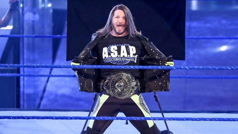 AJ Styles is a WWE Grand Slam Champion