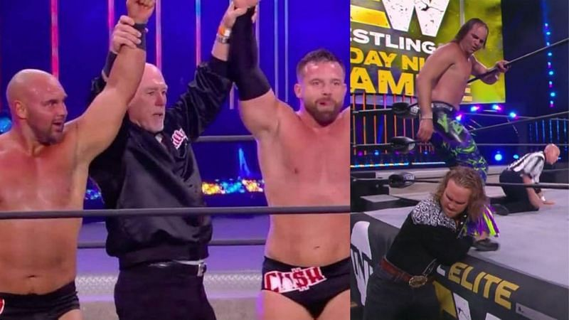 The tag titles match for AEW All Out is set.