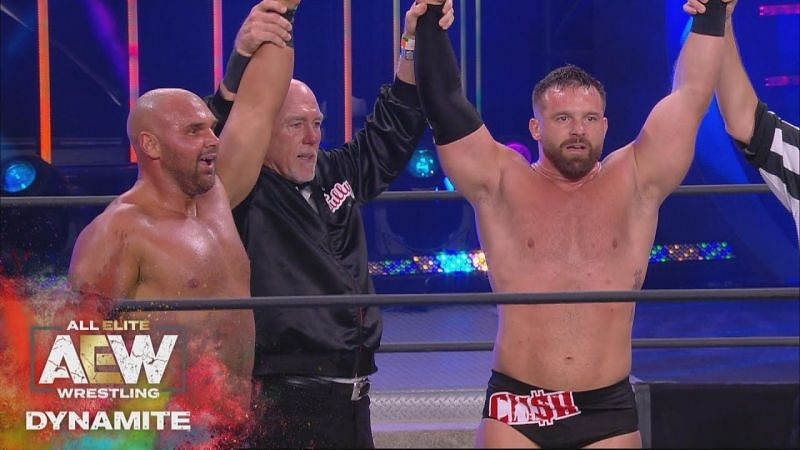 FTR have been on a roll since coming to AEW and are now the number one contenders for All Out.
